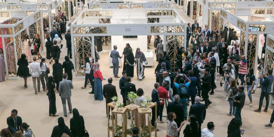 اختتام النسخة الـ12 من معرض هي للأزياء العربية