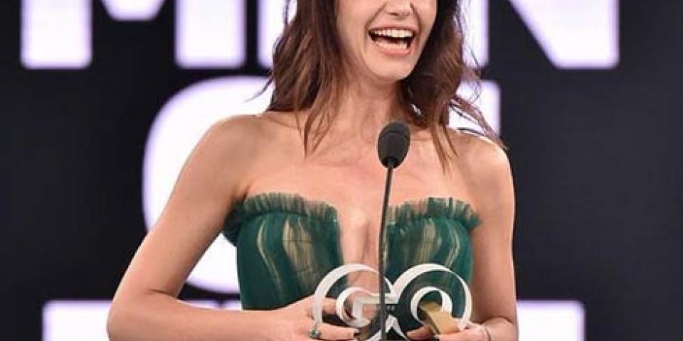 بيرين سات بإطلالة ساخنة خلال حفل توزيع جوائز مجلة GQ