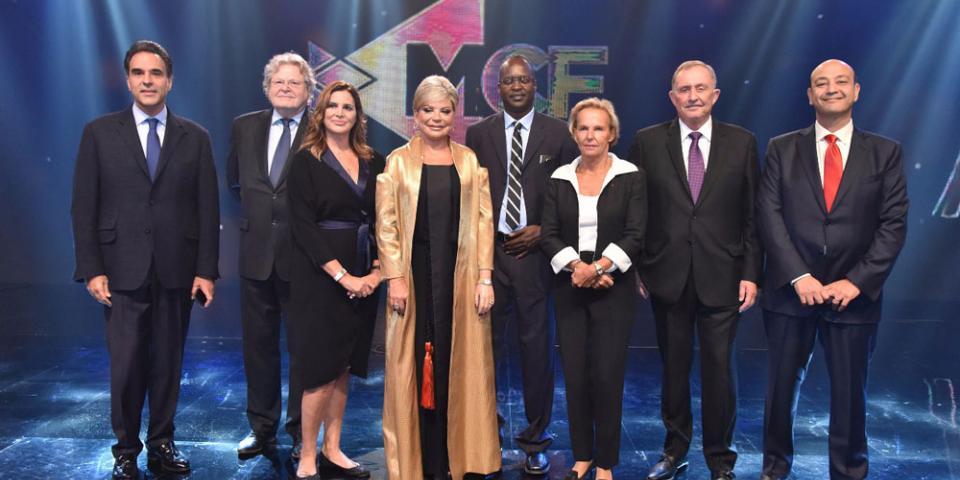 د. ميّ شدياق تكرّم المبدعين في حفل توزيع جوائز MCF Media Awards