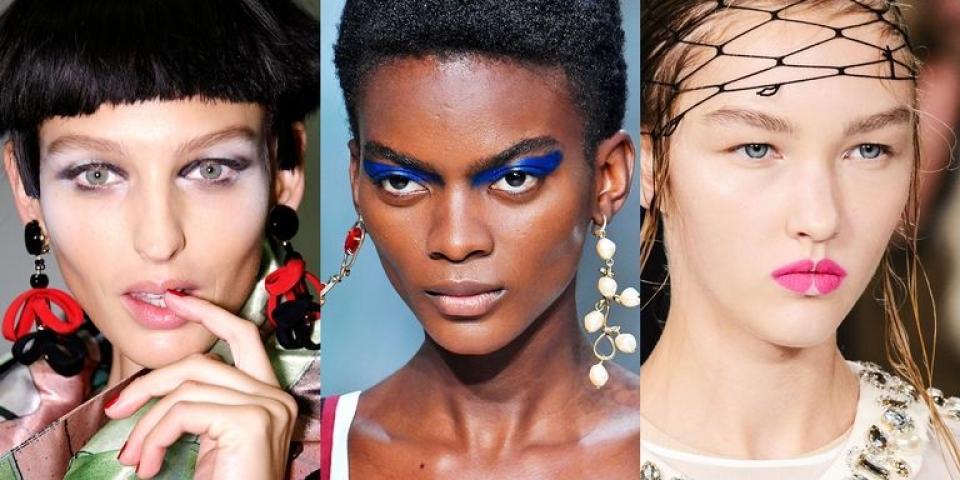 اطلالات الماكياج كلها في أسابيع الموضة العالمية!