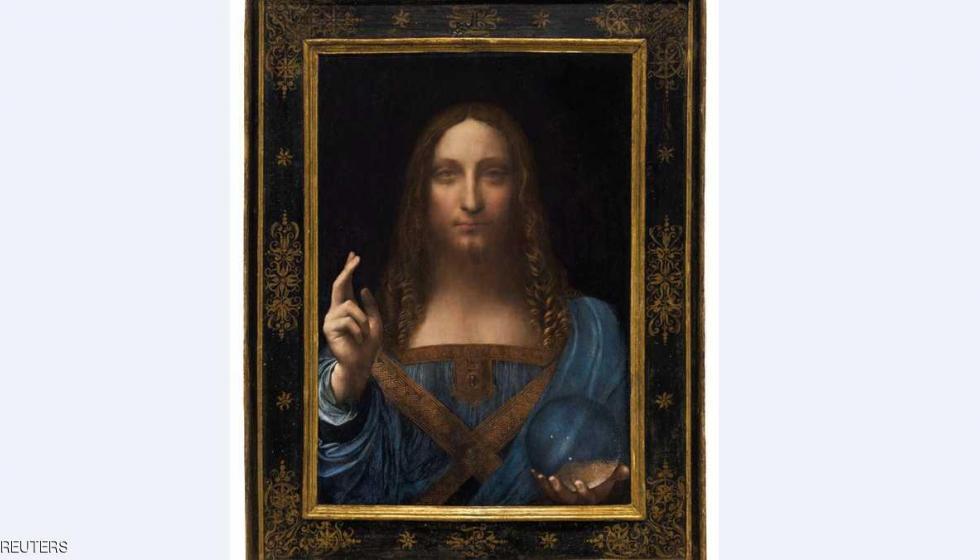 """سعر خيالي للوحة """"مخلص العالم"""" لدافنشي!"""