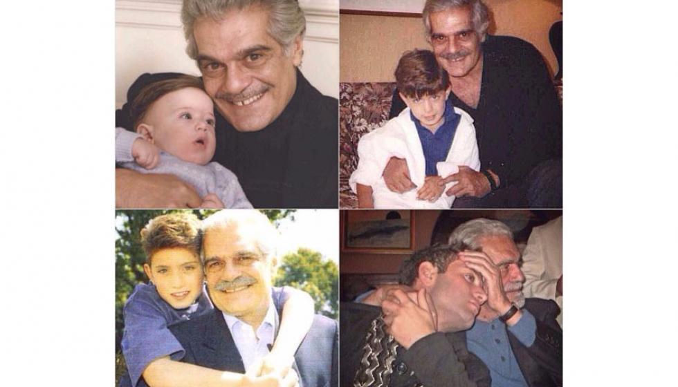 حفيدا عمر الشريف وفاتن حمامة في صورة حديثة