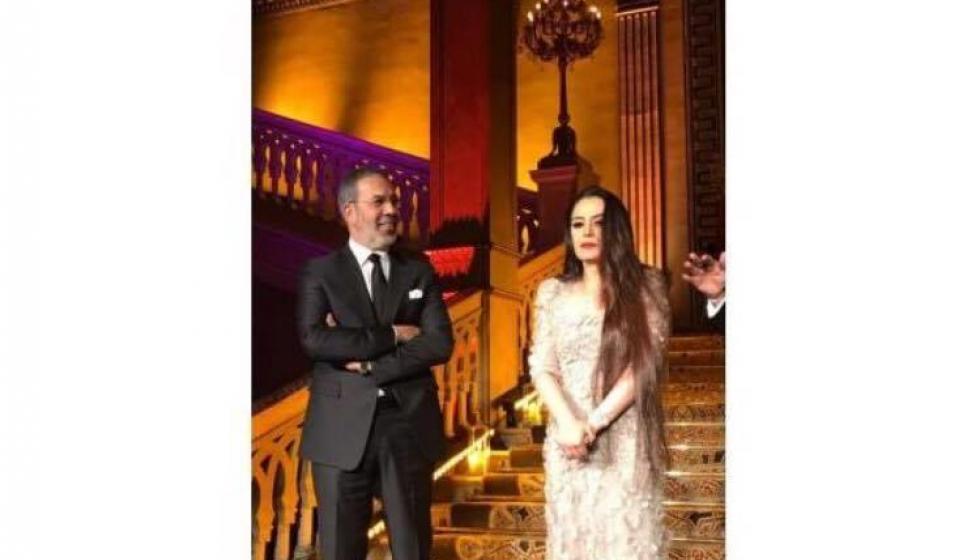 شيريهان بكت تأثراً مع إعلان عودتها للتمثيل