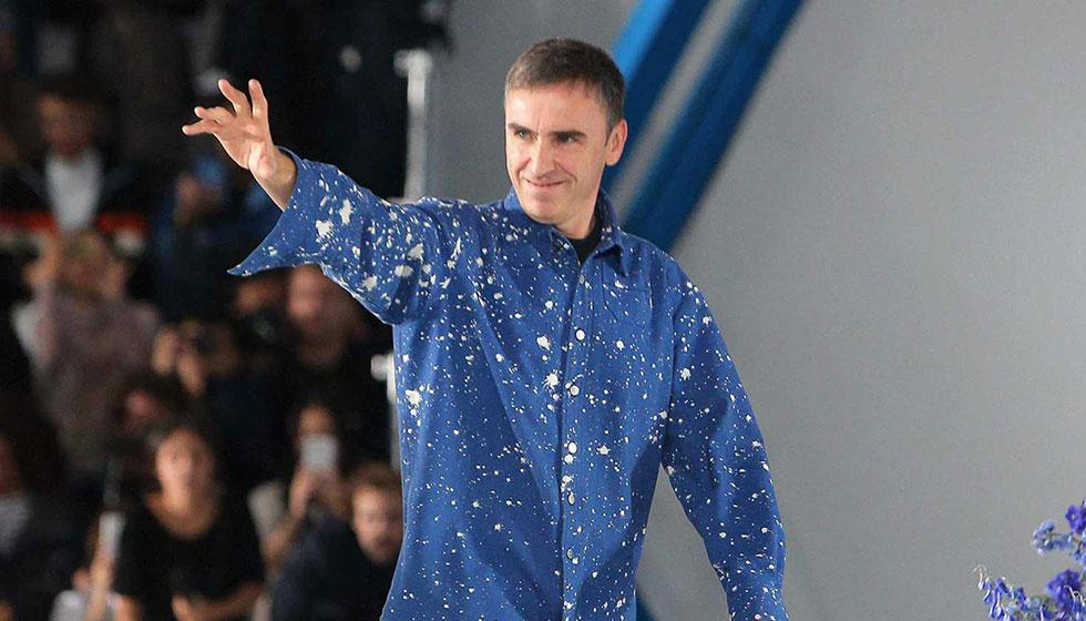 Raf Simons من Christian Dior الى Calvin Klein