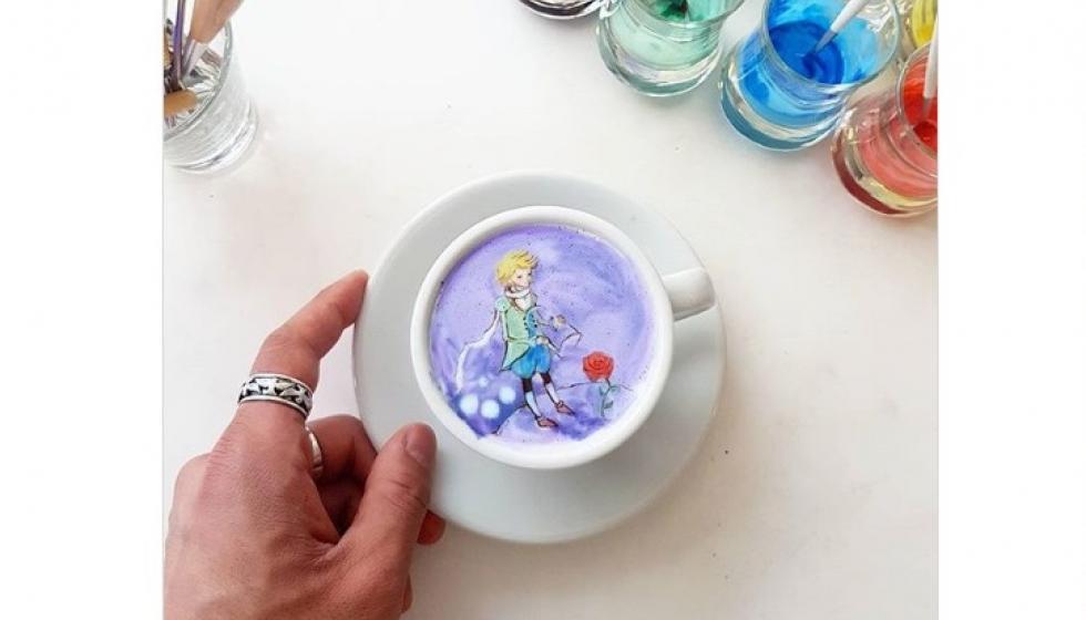 إنستغرام: عندما تتحول القهوة إلى لوحات فنية
