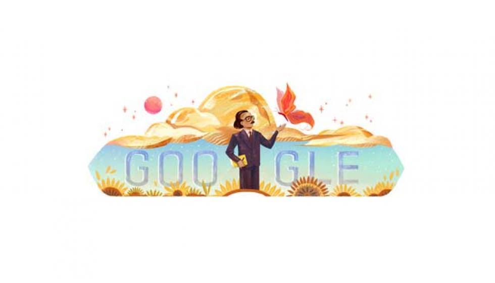 Google يحتفل بذكرى ميلاد أنسي الحاج الـ79