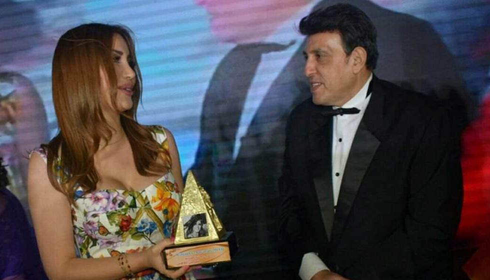 جائزة سعاد حسني لنسرين طافش