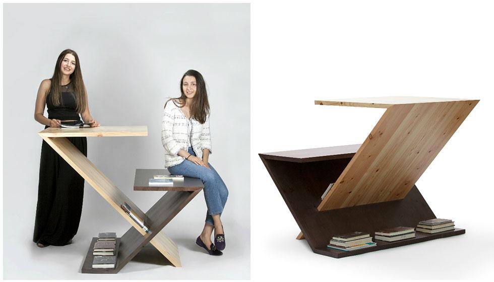 """شقيقتان لبنانيتان تفوزان بمسابقة الخشب السويدي في """"اميركية دبي"""""""
