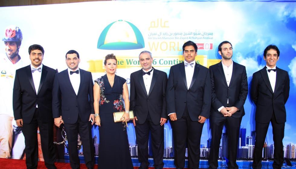 تكريم الفائزين بجائزة الشيخة فاطمة للخيول العربية في هوليوود