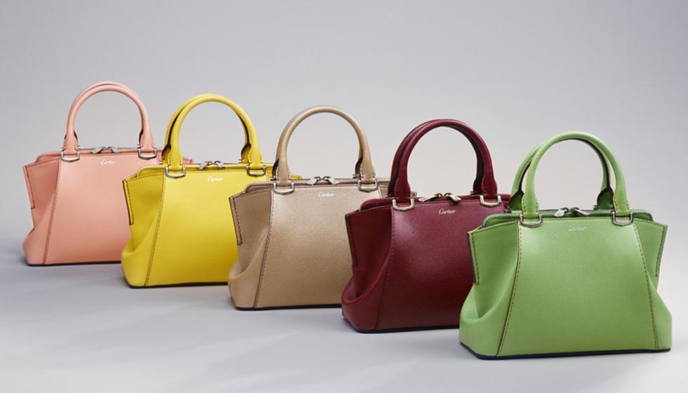 طاقة وحيوية مع تشكيلة جديدة من حقيبة C de Cartier