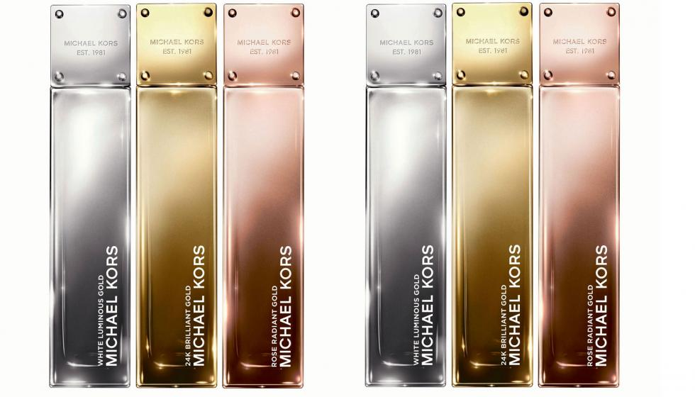 MICHAEL KORS يقدِّم مجموعة عطور Gold Fragrance