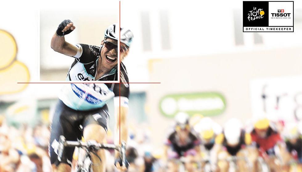 علامة Tissot تضبط الوقت في سباق Tour de France