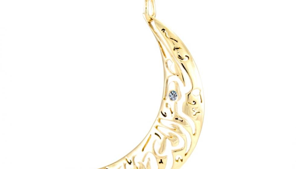مجوهرات بالخط الكوفي من وحي شهر رمضان