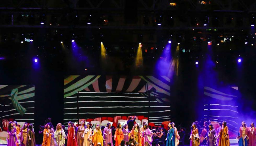 أوبرا عنتر وعبلة تفتتح مهرجان صيف جونية 2017