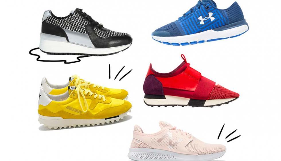 خمسة اتجاهات للحذاء الرياضي هذا الخريف