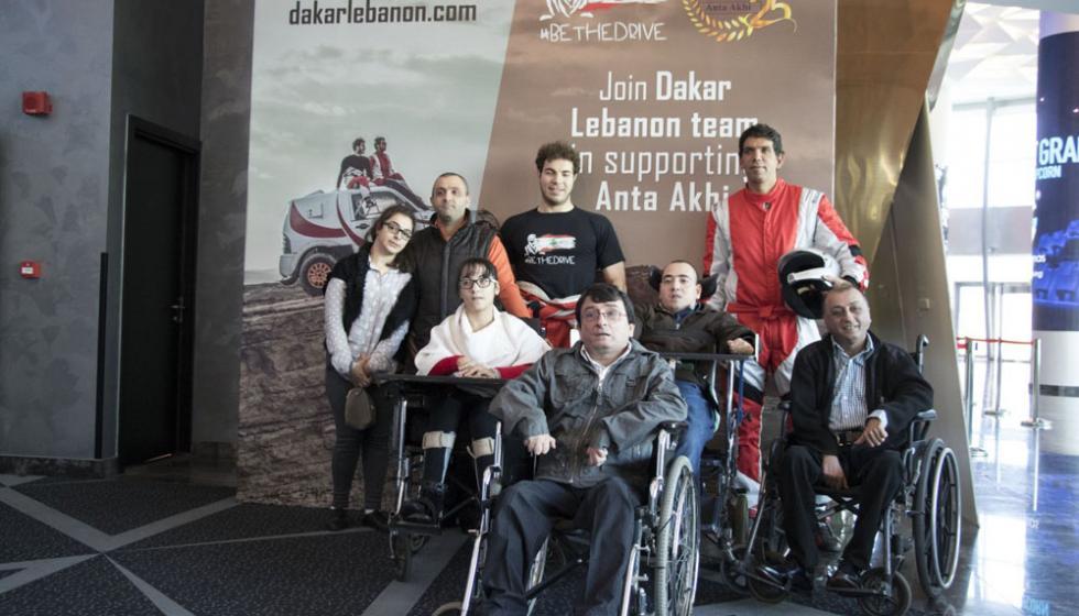 """انطلاق مغامرة لبنان في رالي داكار مع حملة #BeTheDrive وجمعية"""" أنت أخي"""""""