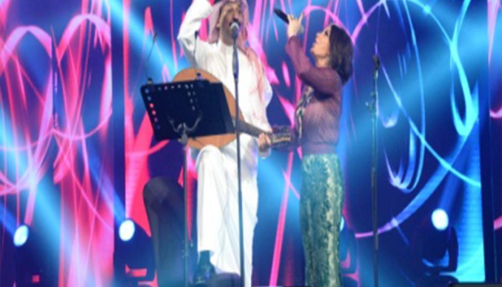 أصالة تكتسح المسرح في ثاني ليالي مهرجان دبي