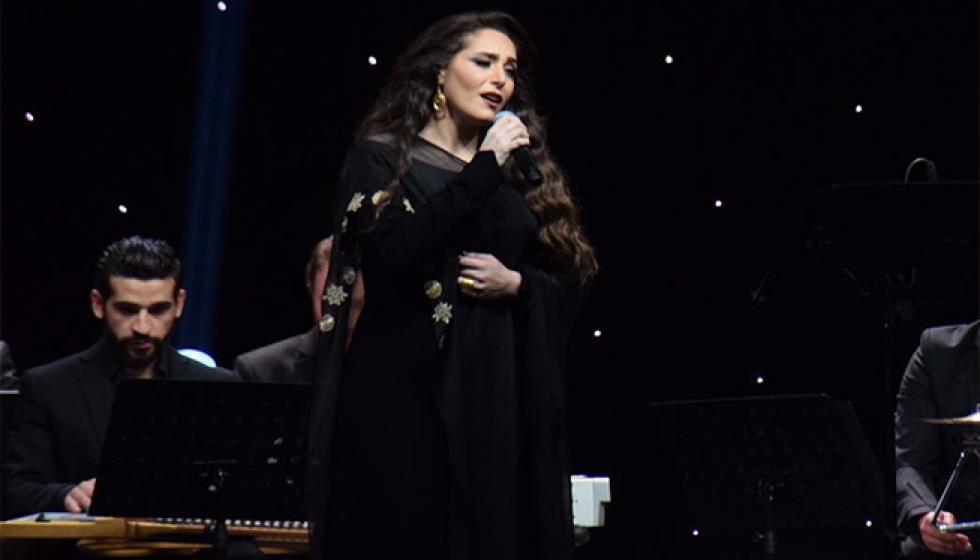 عبير نعمة تتألق في إفتتاح مهرجانات الموسيقى الكلاسيكية
