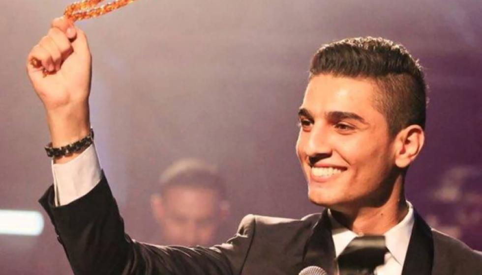 محمد عساف في عمان لحضور العرض الاول لفيلمه