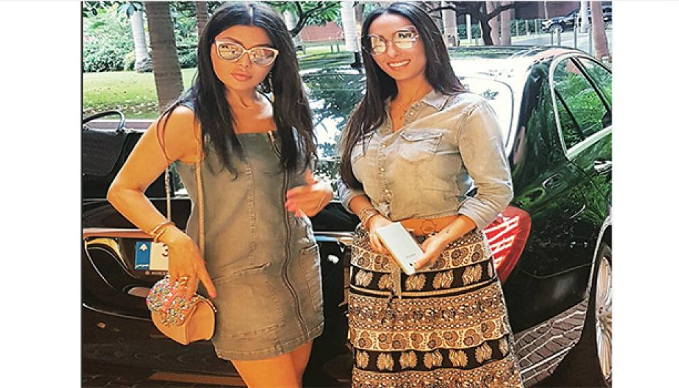 هيفاء لشقيقتها: وقتنا معاً لا يكفي