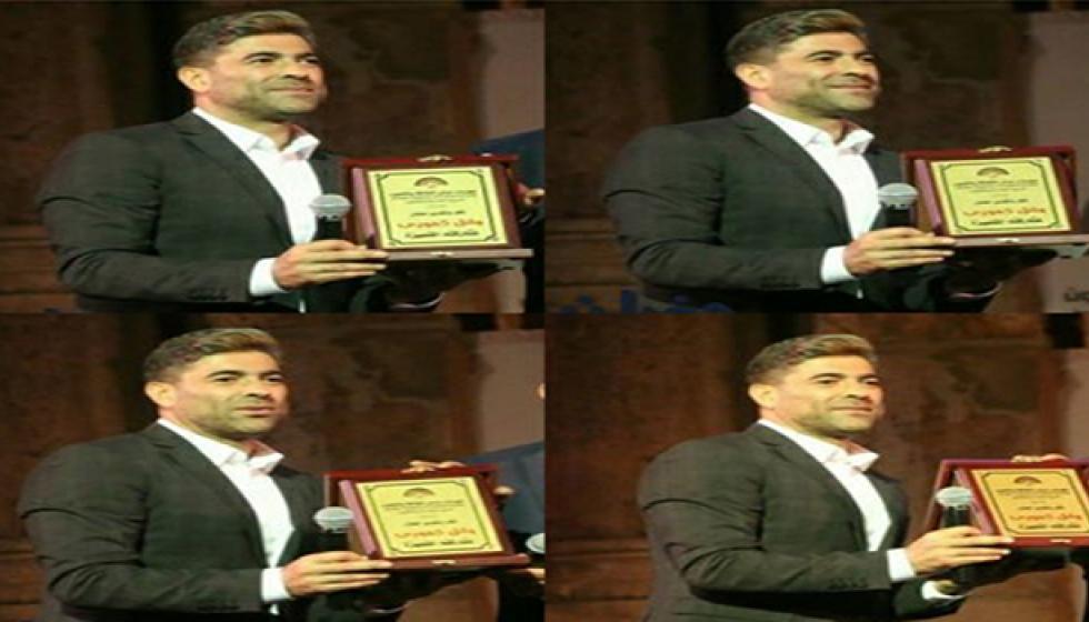 تكريم وائل كفوري في جرش