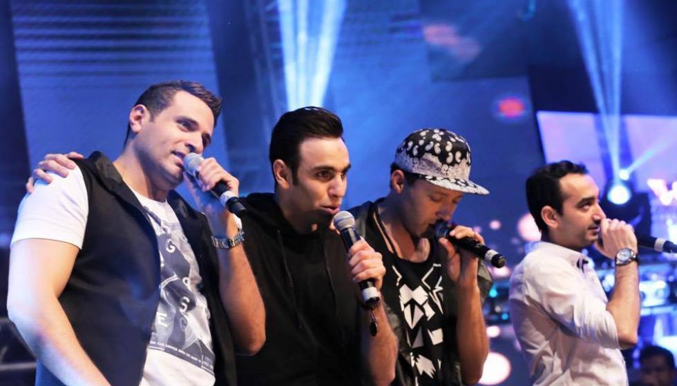 """فريق """"واما"""" يصور 3 اغنيات مع ياسر سامي"""