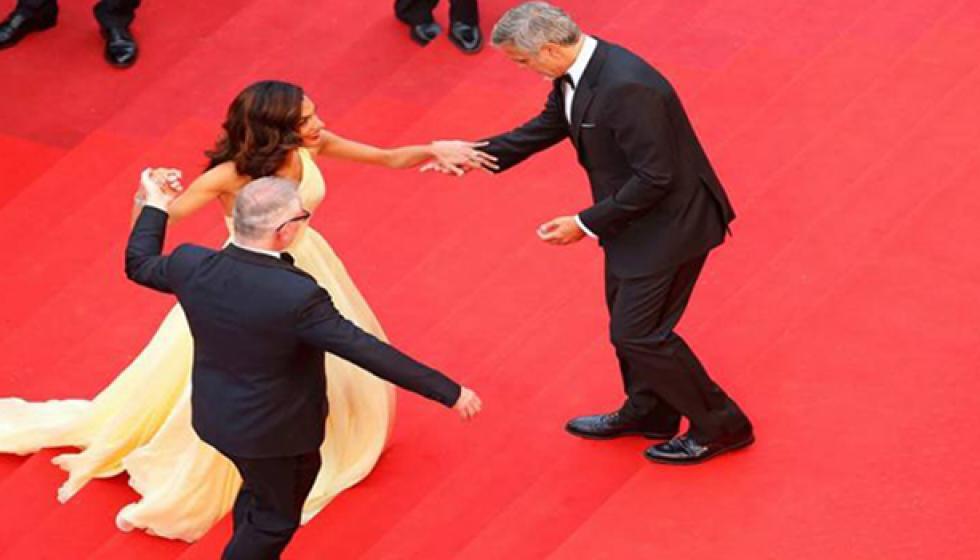 فستان امل علم الدين يربك جورج كلوني