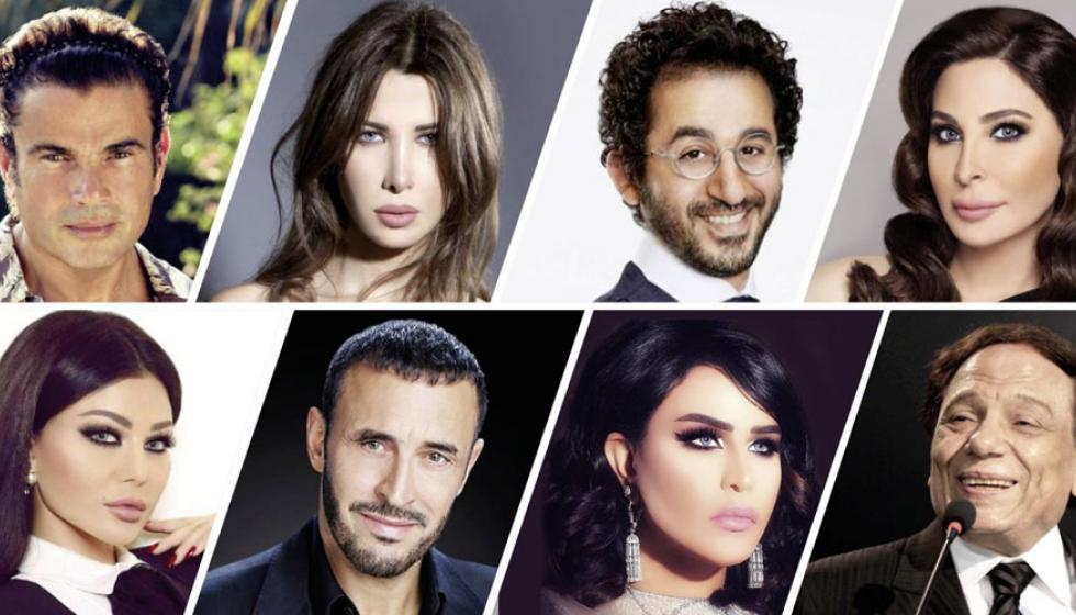 نجوم مصر ولبنان الأكثر تأثيراً بحسب قائمة فوربس