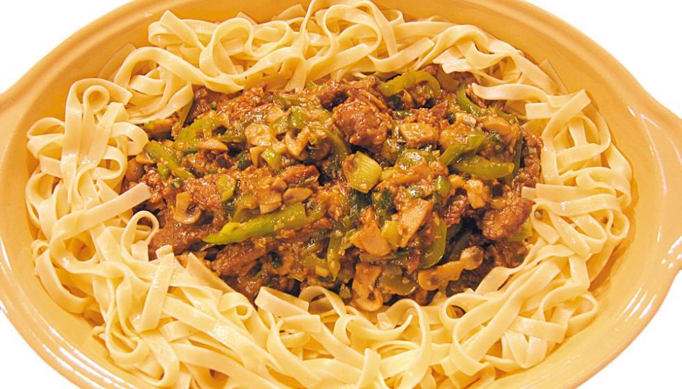 لحم بالسمسم على الطريقة الصينية