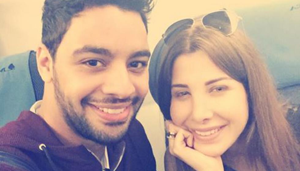 نانسي عجرم وأحمد جمال معا الى القاهرة
