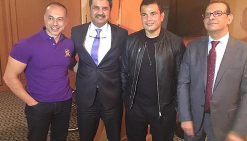 """عمرو دياب.. إلى """"ام بي سي"""" درّ"""