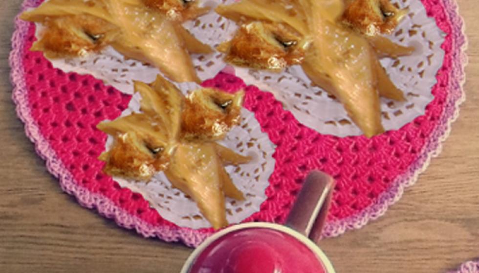 وريدات قريوش الطاجين من حلويات العيد التونسية