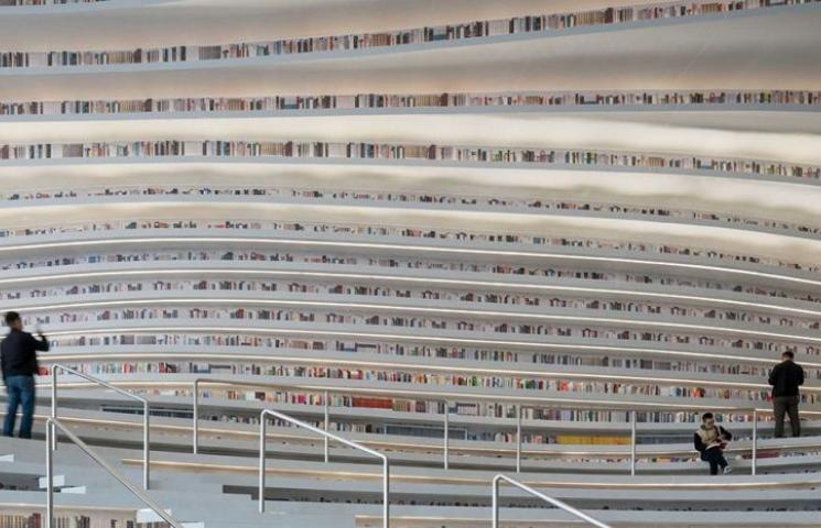 """انتبهوا عند التقاطكم سيلفي في""""أجمل مكتبة في العالم!"""