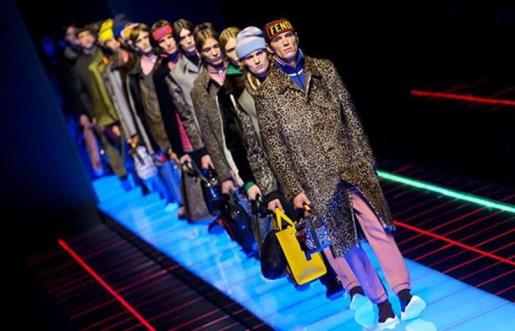 إشراقة يوم جديد في مجموعة أزياء Fendi الرجّالية